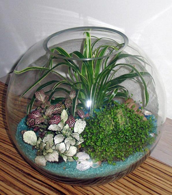Аквариум для сада своими руками