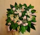 Букет из орхидей дендробиум