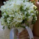 Свадебный букет из фрезий