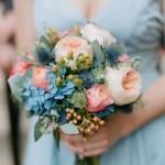Свадебный букет в пастельных тонах 1