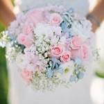 Свадебный букет в пастельных тонах 2