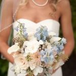 Свадебный букет в пастельных тонах 5
