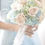 Свадебный букет в пастельных тонах 6