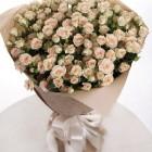 Букет из кустовых роз 29