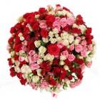 Букет из кустовых роз 49