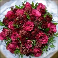 """Букет из роз """"Розовая мечта"""""""